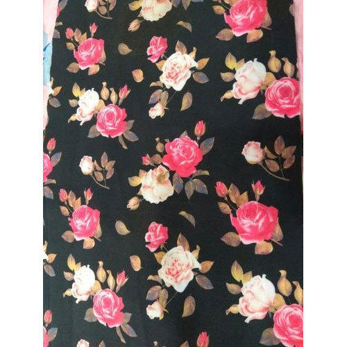 Printed Polyester Lycra Fabric