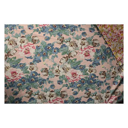 Printed Poplin Lycra Fabric