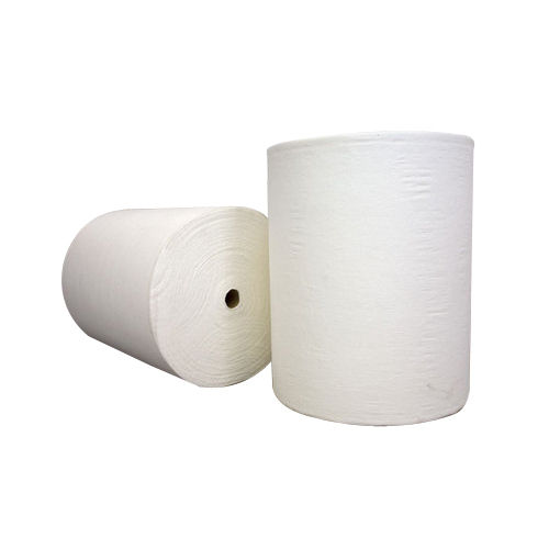 Woven White Polyester Fabric