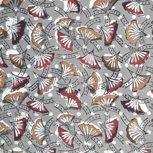 Kalamkari Cotton Print Fabric