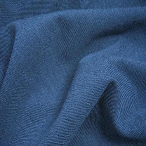 Printed Knit Stretch Denim Fabric