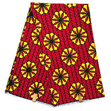 Cotton African Wax Printed Fabric