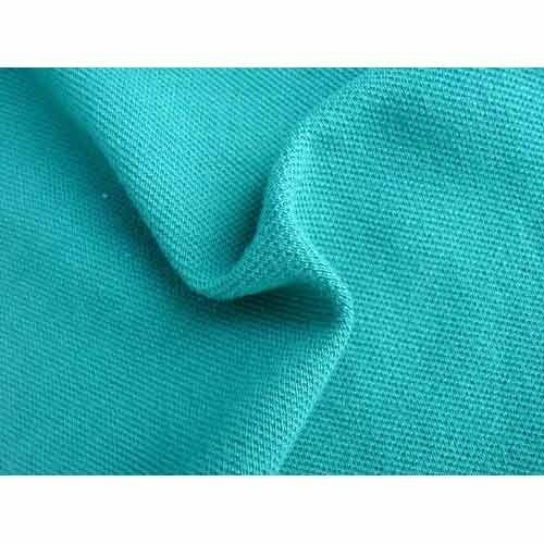 Organic Cotton Recycled Polyester Spandex Blend Fabric