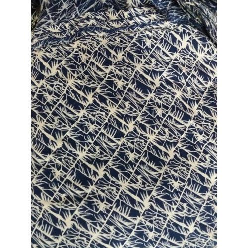 Rayon Wool Blend Printed Fabric