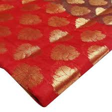Polyester Chanderi Fabric