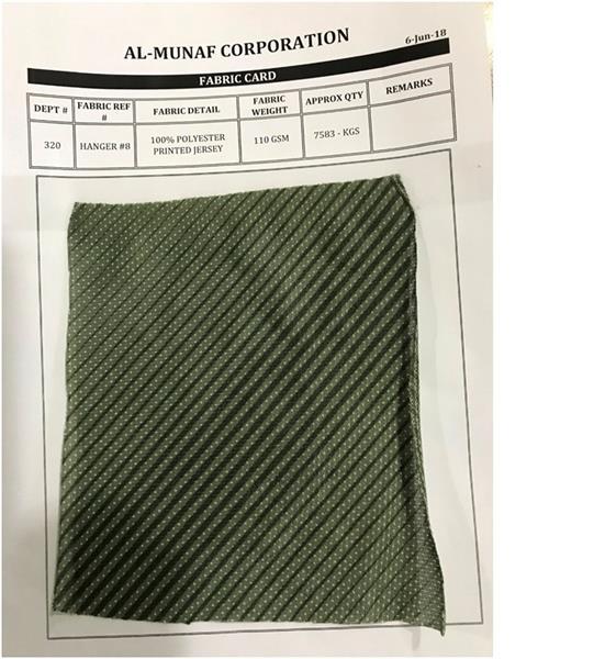 Printed Single Jersey Fabric