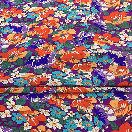 Crepe Printed Fabric