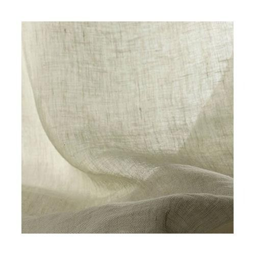 Linen Raw White Fabric