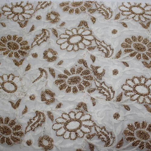 Embroidery Plain Fabric