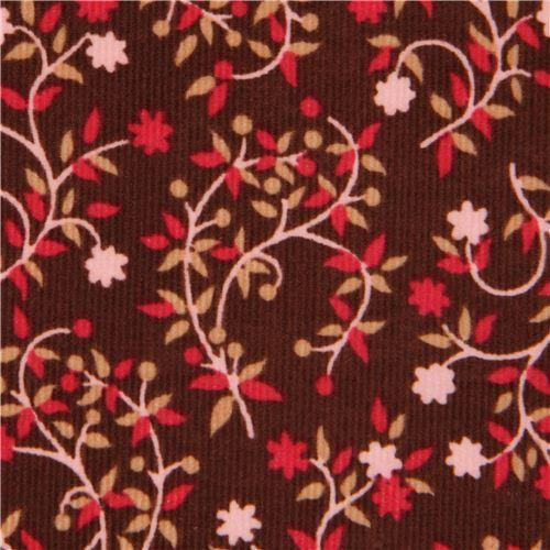 Corduroy Printed Fabric