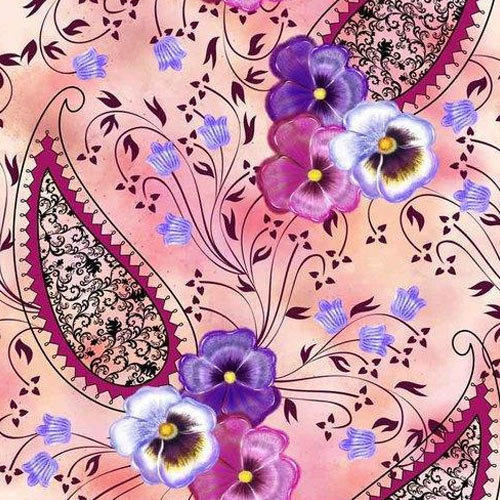 Printed Dress Polyester Fabric