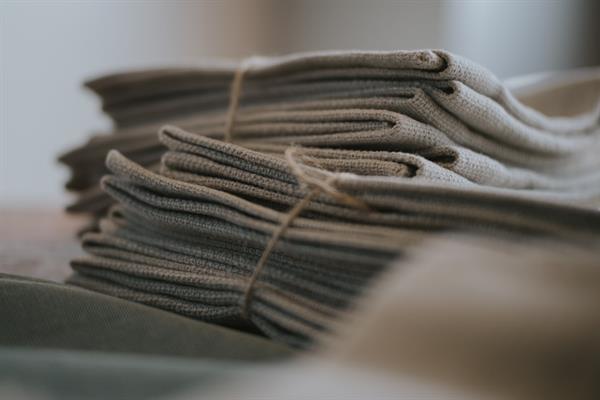 Dyed Abaca Fabric