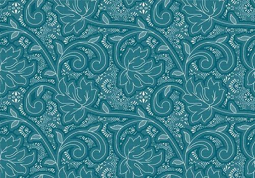 Printed Woolen Fabric