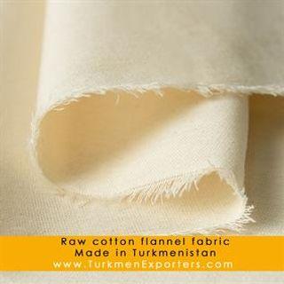 Cotton Raw Flannel Fabric