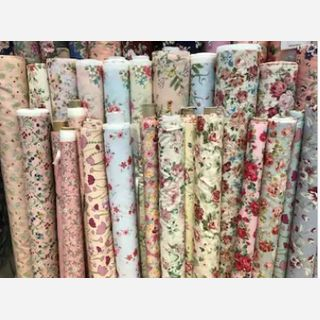 Digitally Printed Knitted Single Jersey Fabric