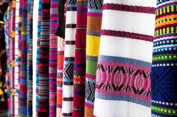 Knitted Polyester Spun Jacquard Fabric