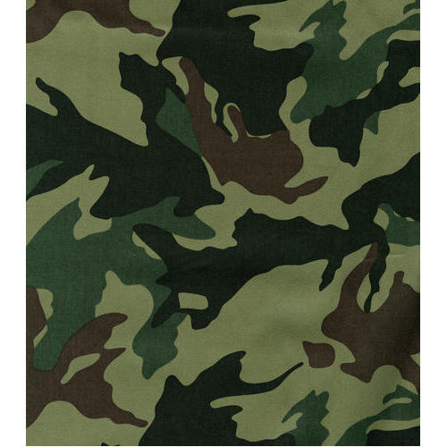 Polyester Wool Camouflage Fabric