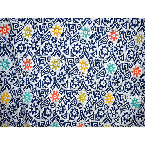 Batik Printed Cotton Fabric