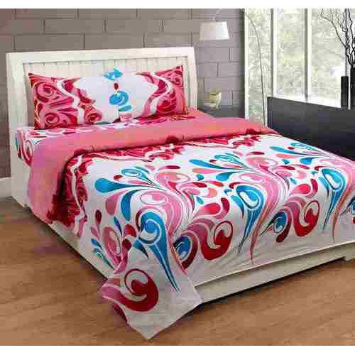 Poly Cotton Bedsheets Fabric