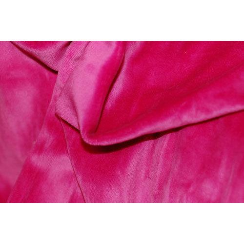 Polyester Velvet Knitted Fabric