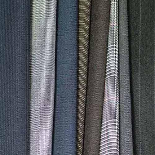 Dyed Suiting Polyester  Viscose Suiting Fabric