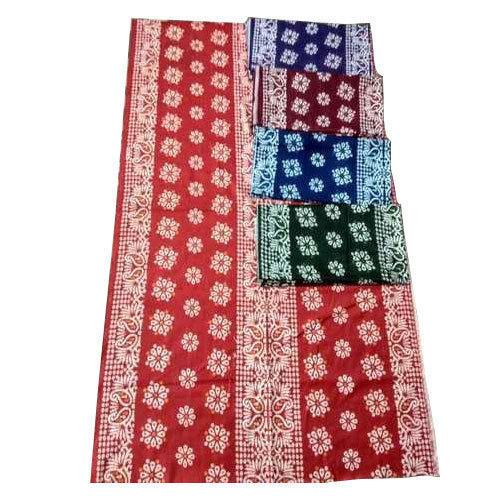 Poplin Wax Batik Printed Fabric