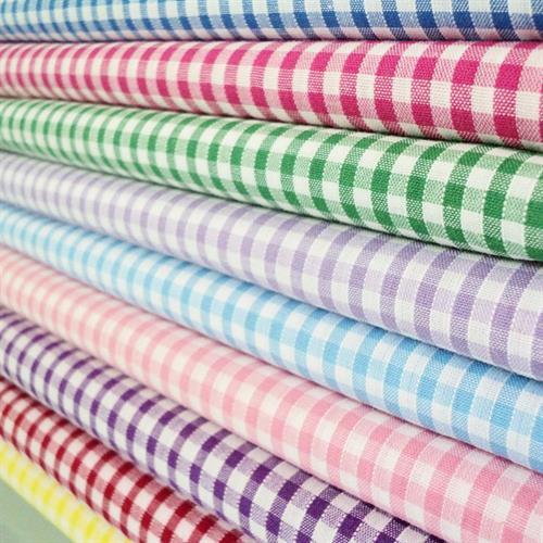 Stocklot Checks Shirting Fabric