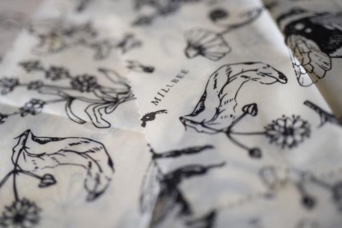 Digital Printed Organic Cotton