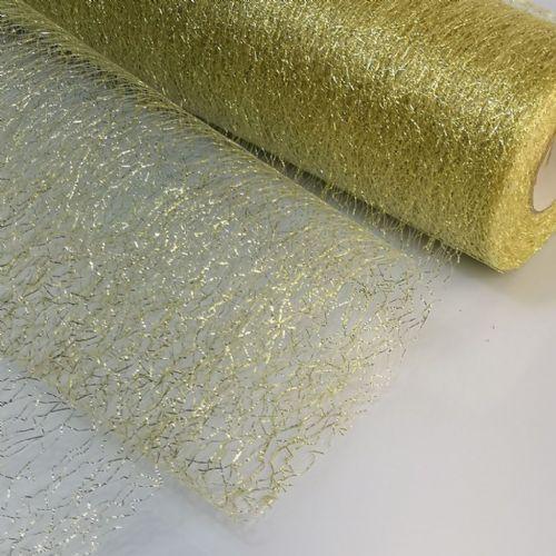Glitter Tulle Mesh Fabric