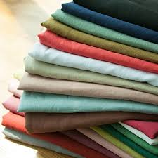 Pure Linen Solid Dyed Fabric
