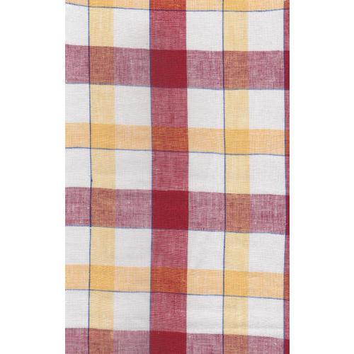Checks Linen Fabric