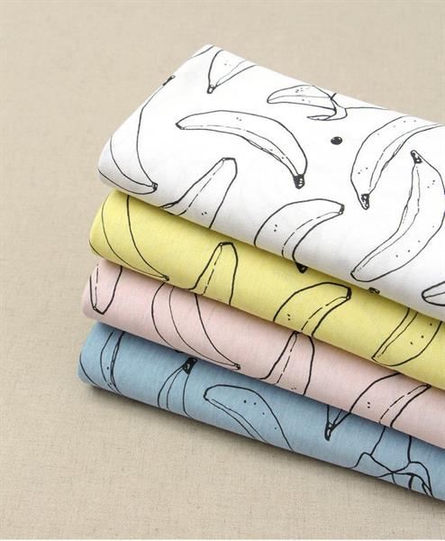 Banana / Cotton Knitted Fabric