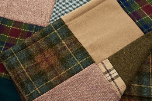 Wool / Polyester Blended Fabric