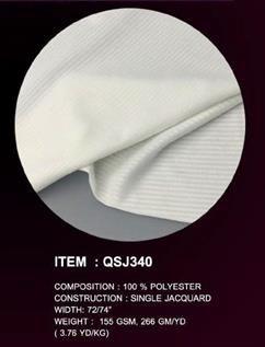 Single Jersey Jacquard Fabric