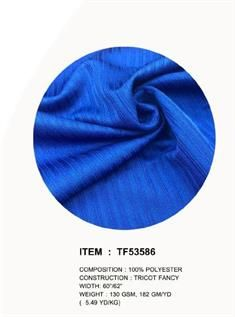 Tricot Fancy Knitted Fabric
