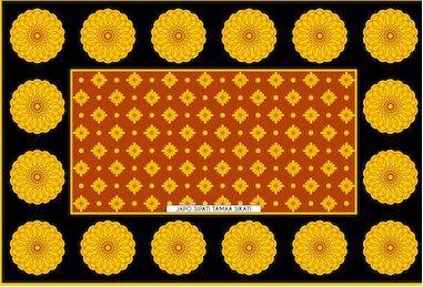 Cotton Kanga Fabric