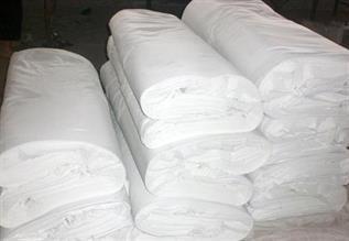 Cotton White Fabric