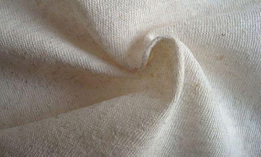 Hemp Cotton Elastane Blend Fabric