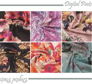 Digital Printed Fabric-Woven Fabric