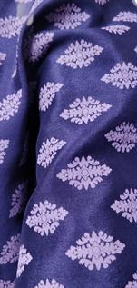 Printed Crepe Silk Fabric