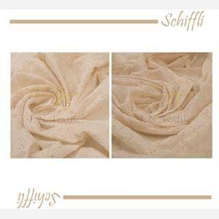 Schiele Embroidered Cotton Fabric
