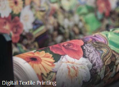 Digitally Printed Polyester Fabric