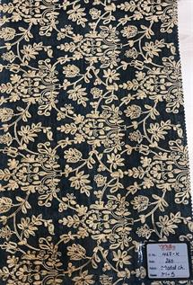 Chanderi Embroidery Fabric
