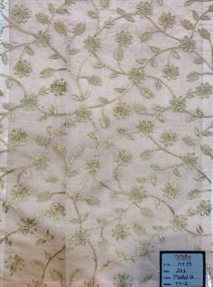Designer Embroidery Fabric