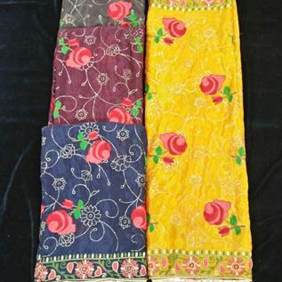 Embroidery Viscose Fabric