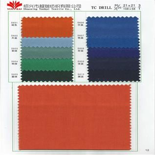 Dyed Drill Fabric