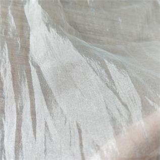 Crepe White Fabric