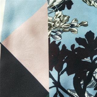 Chiffon Printed Fabric