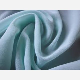 Recycled Crinkle Chiffon Fabric