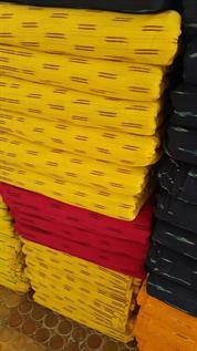 Cotton Ikkat Fabric